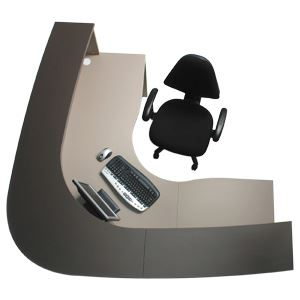 Ergo Curve Reception Desk