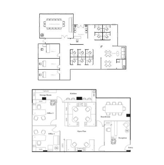No Matter What Industry Youu0027re Working, Our Versatile Design Team Can Work  To Your Needs With Our Floorplan Designs.