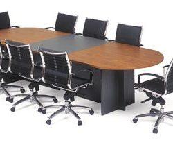 Merlin T-Base Boardroom Table