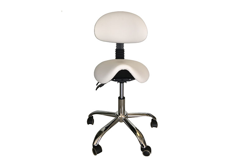 Cyprus Saddle Stool + Back